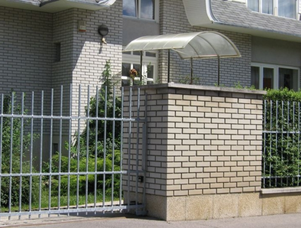 Kovácsoltvas kertkapu referencia 5 Bo-Jász Kft