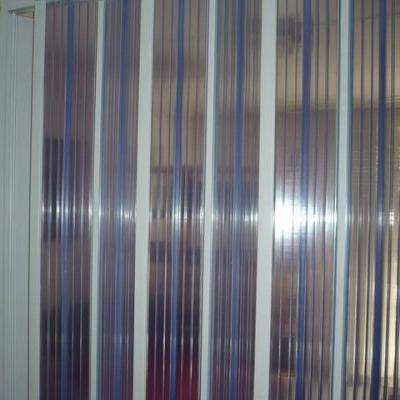 Műanyag harmónika ajtó, áttetsző, térelválasztóként